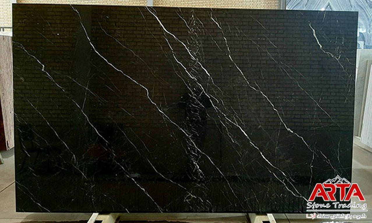 سنگ اسلب مرمریت مشکی نجف آباد