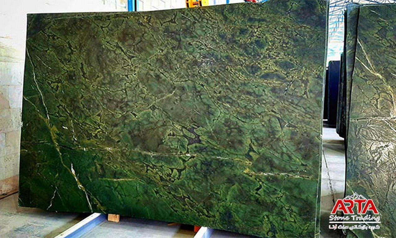 سنگ اسلب گرانیت سبز جنگلی